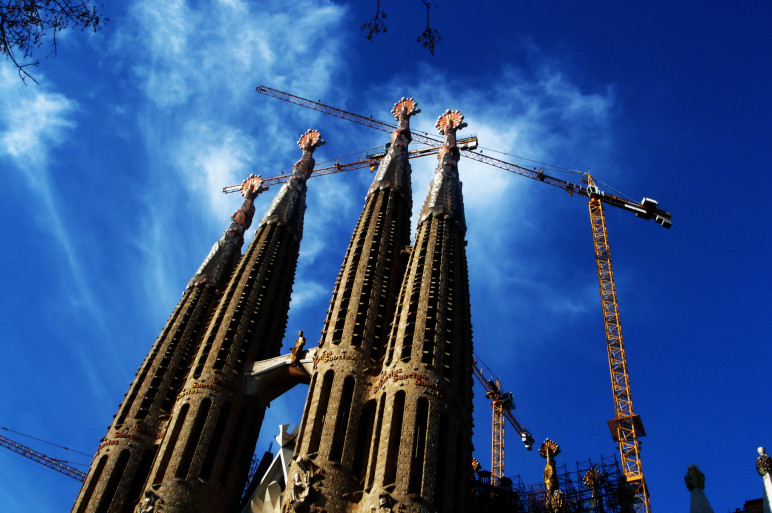 foto outdoor barcellona sagrada familia