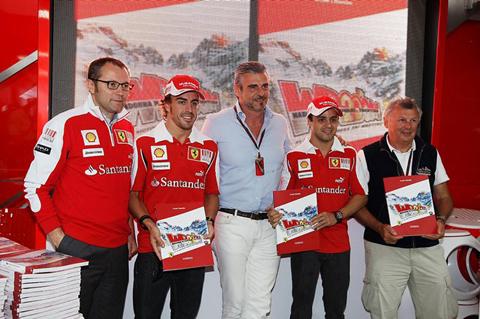 foto Maurizio Arrivabene, Ferrari