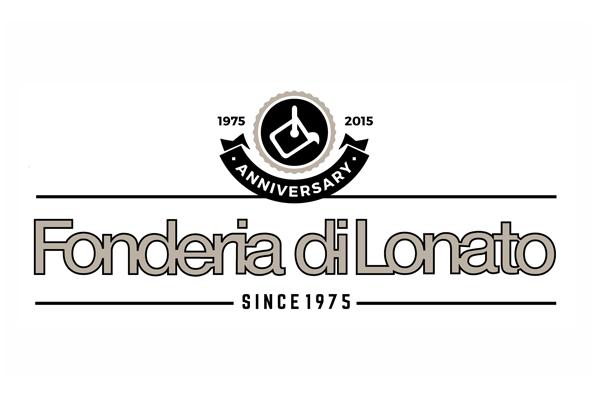 logo fonderia di lonato quarantesimo anniversario