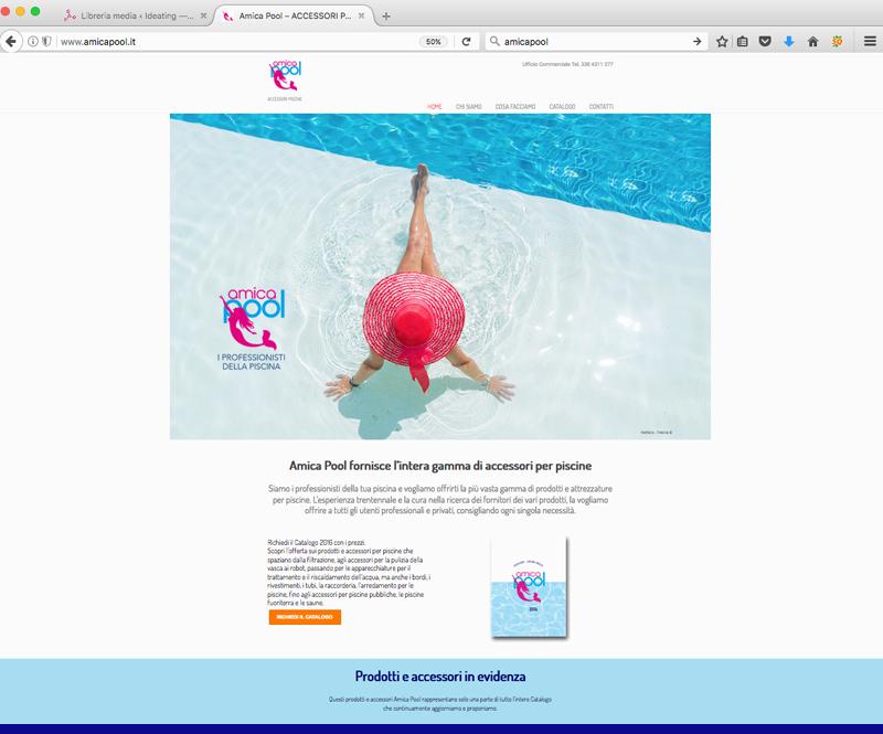 web design di amicapool